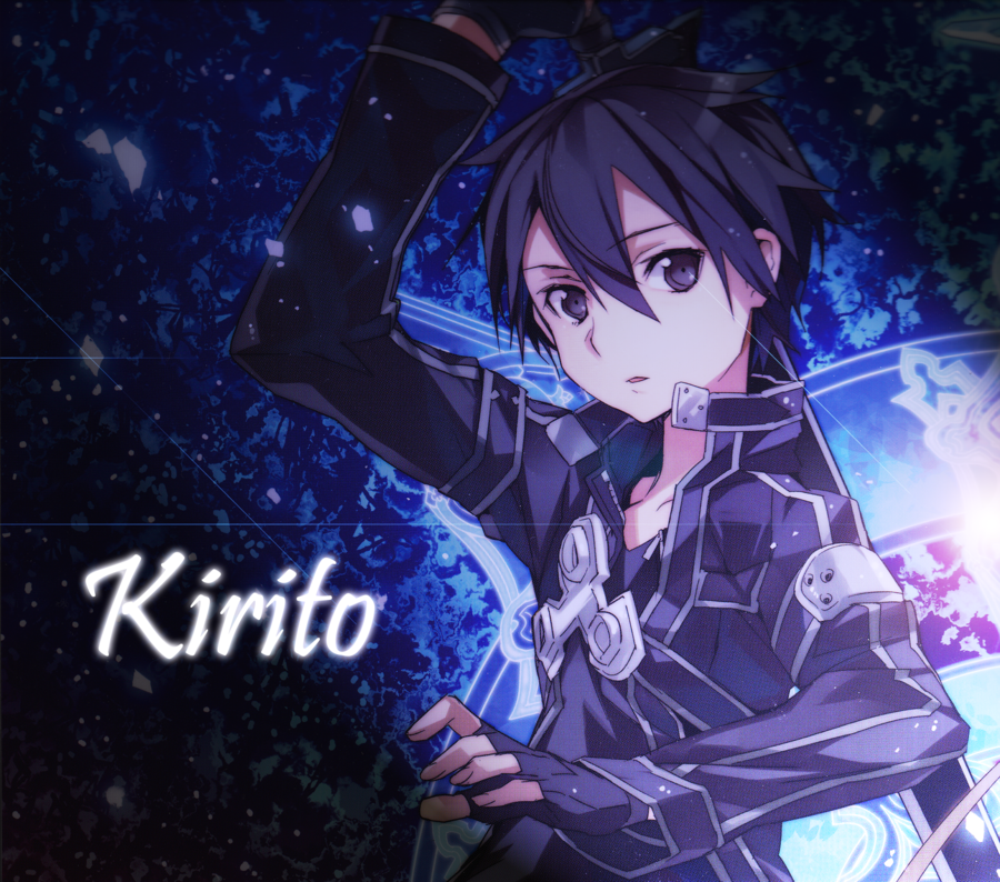 Online Wallpaper: Kirito IPhone Wallpaper