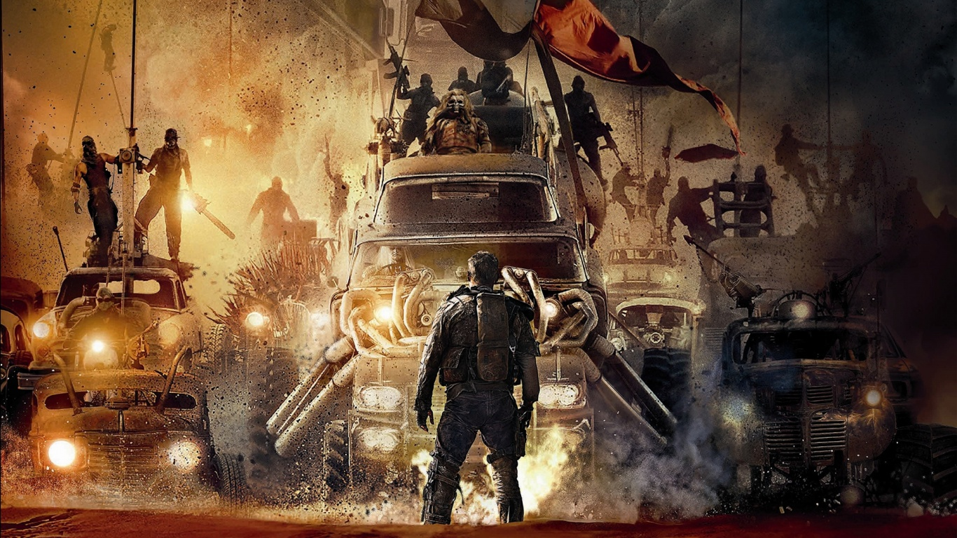 2015 Mad Max Fury Road Movie Wallpapers HD Wallpapers 1366x768