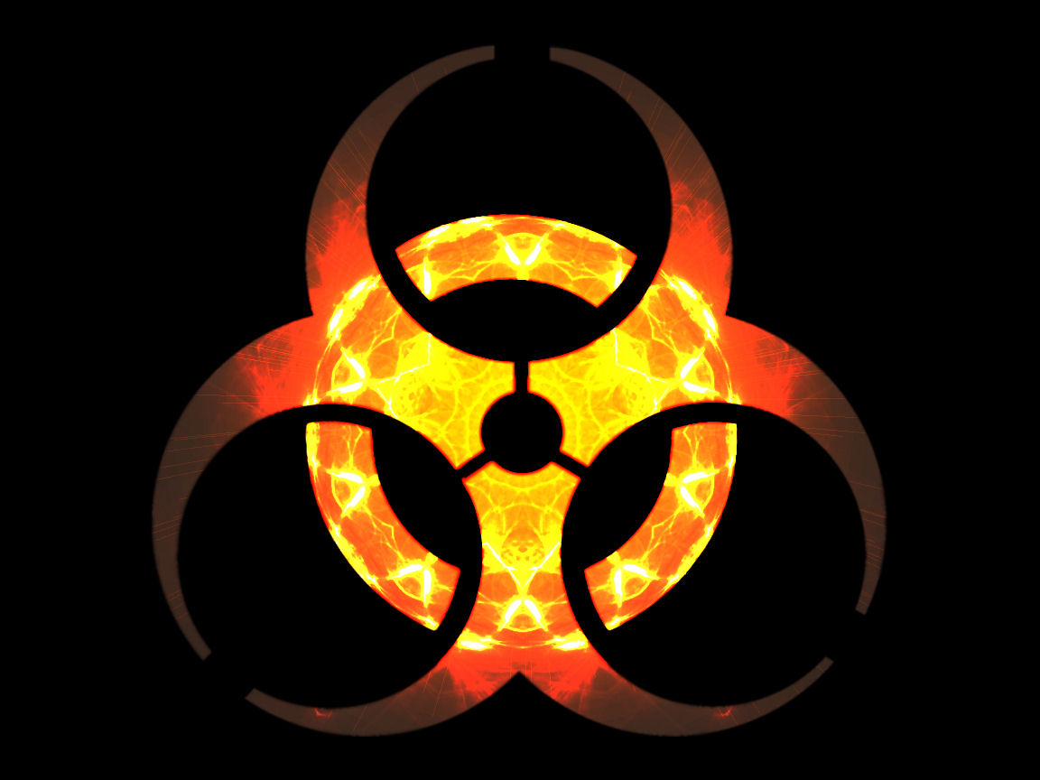 biohazard symbol wallpaper download Wallpaper Downloads 1152x864