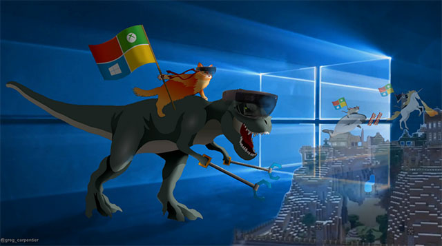 10 Cool Ninja Cat Wallpapers For Microsoft Windows 10 That Will Make 640x357