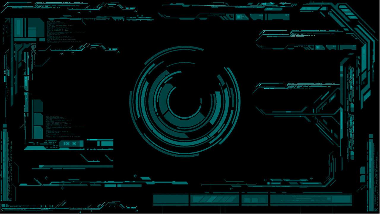 cyber interface by chembletek customization wallpaper science fiction 1280x720