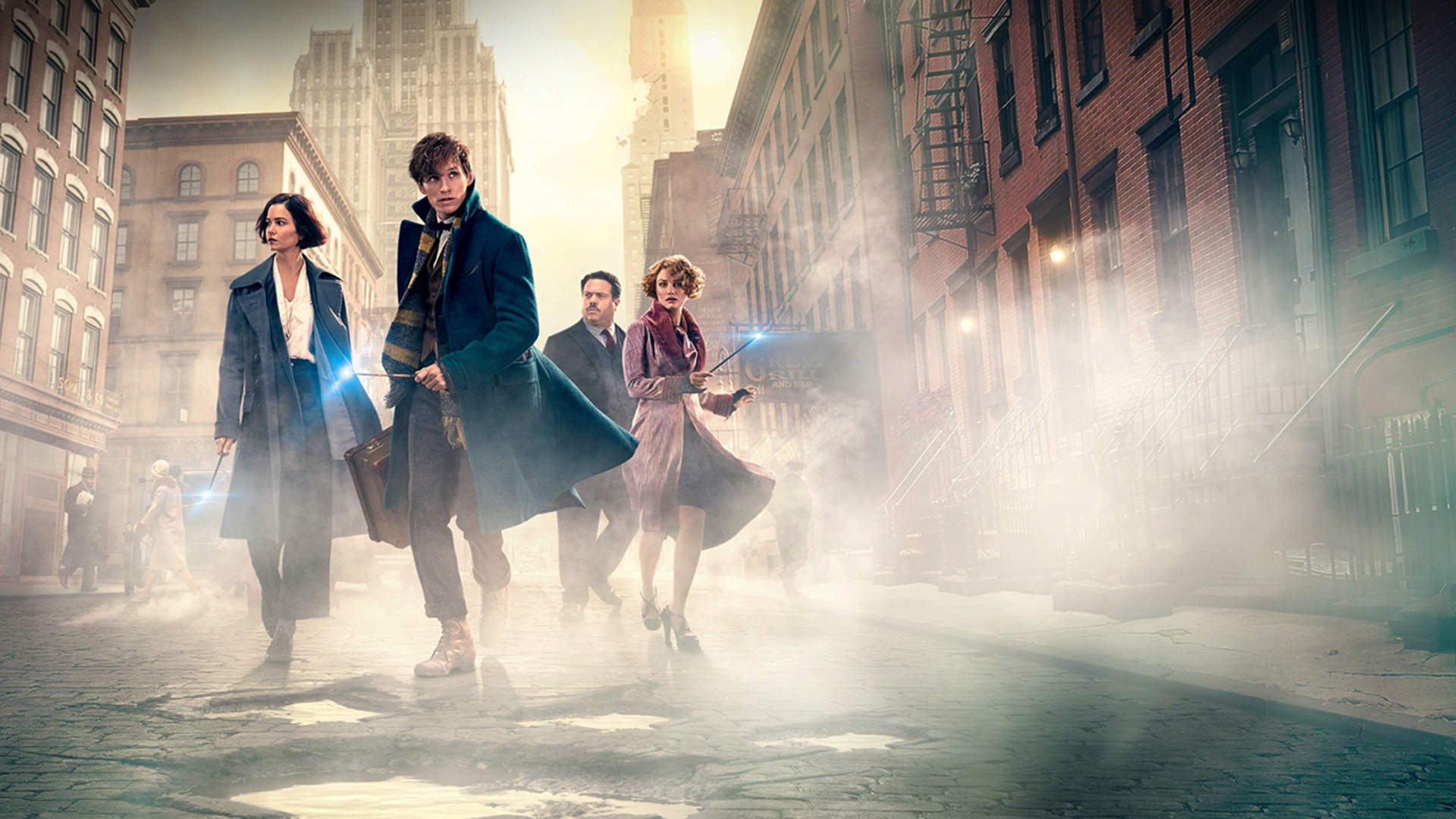 Fantastic Beasts and Where to Find Them HD Wallpaper Background 1920x1080