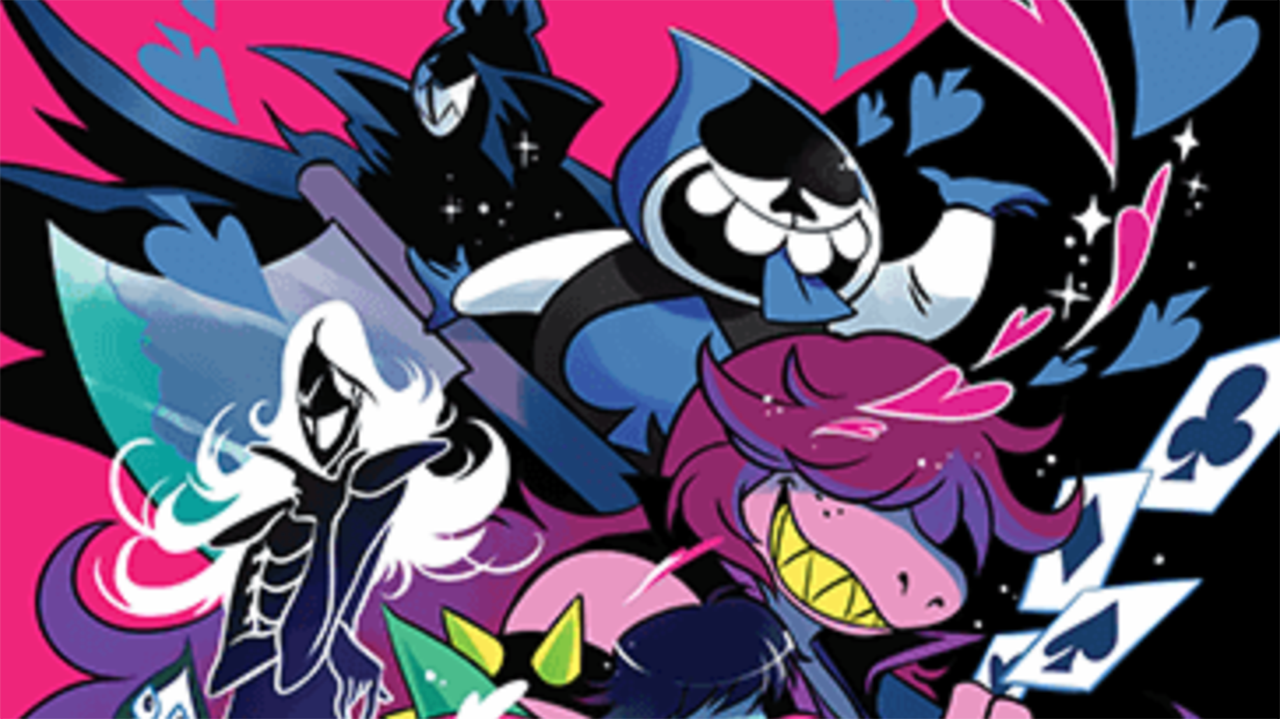 First Deltarune Merchandise Revealed   IGN 1280x720