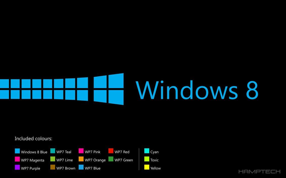 Windows 8 LockscreenWallpaperpack BlackEdition by Hamptech on 1131x707