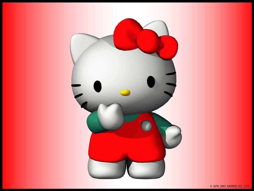 duckykittycomHello Kitty Wallpapers 1024x768