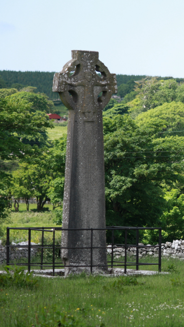 Buzzs blog iPhone Wallpaper Celtic Cross 640x1136