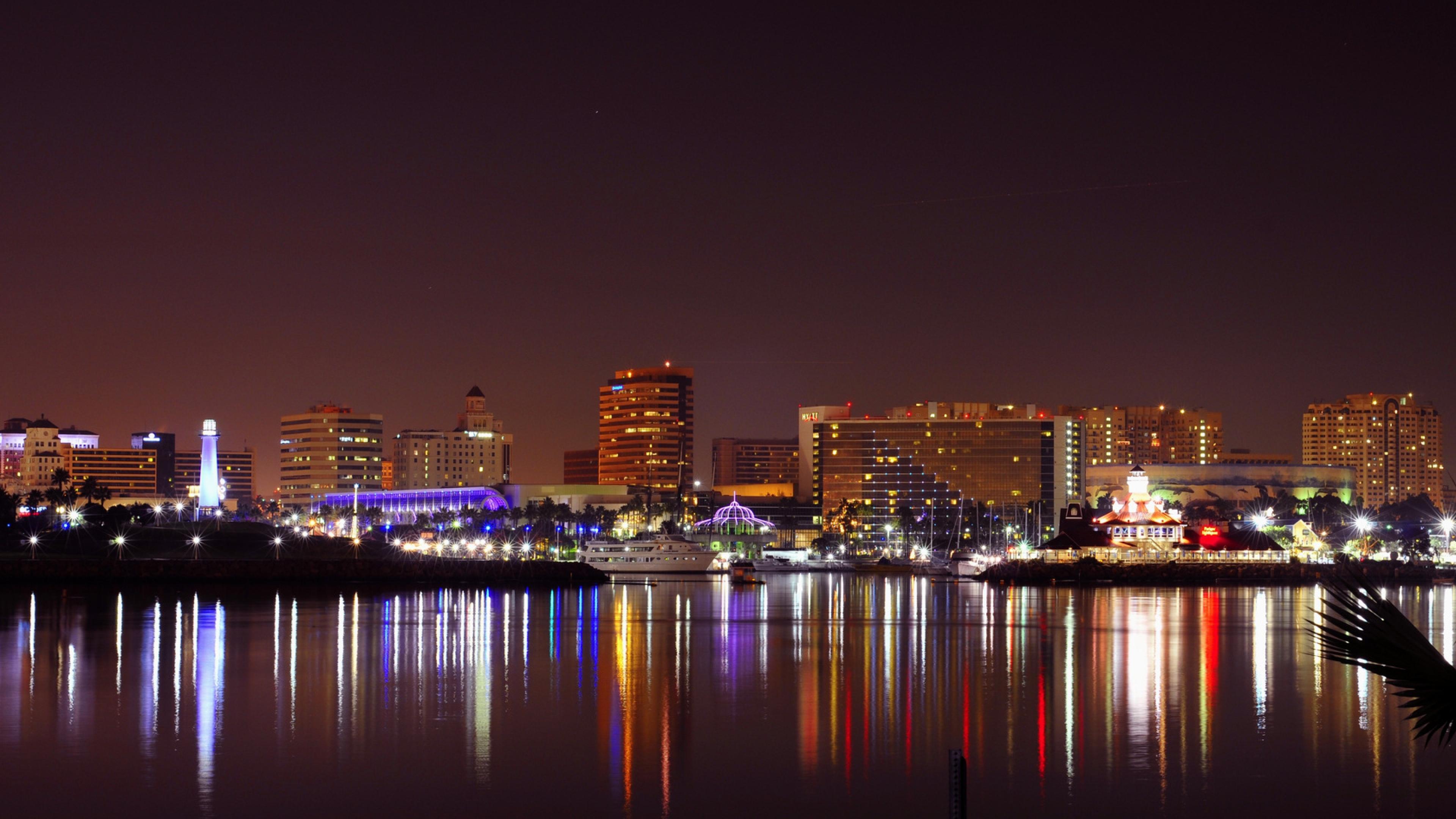 Long Beach California Wallpaper 3840x2160