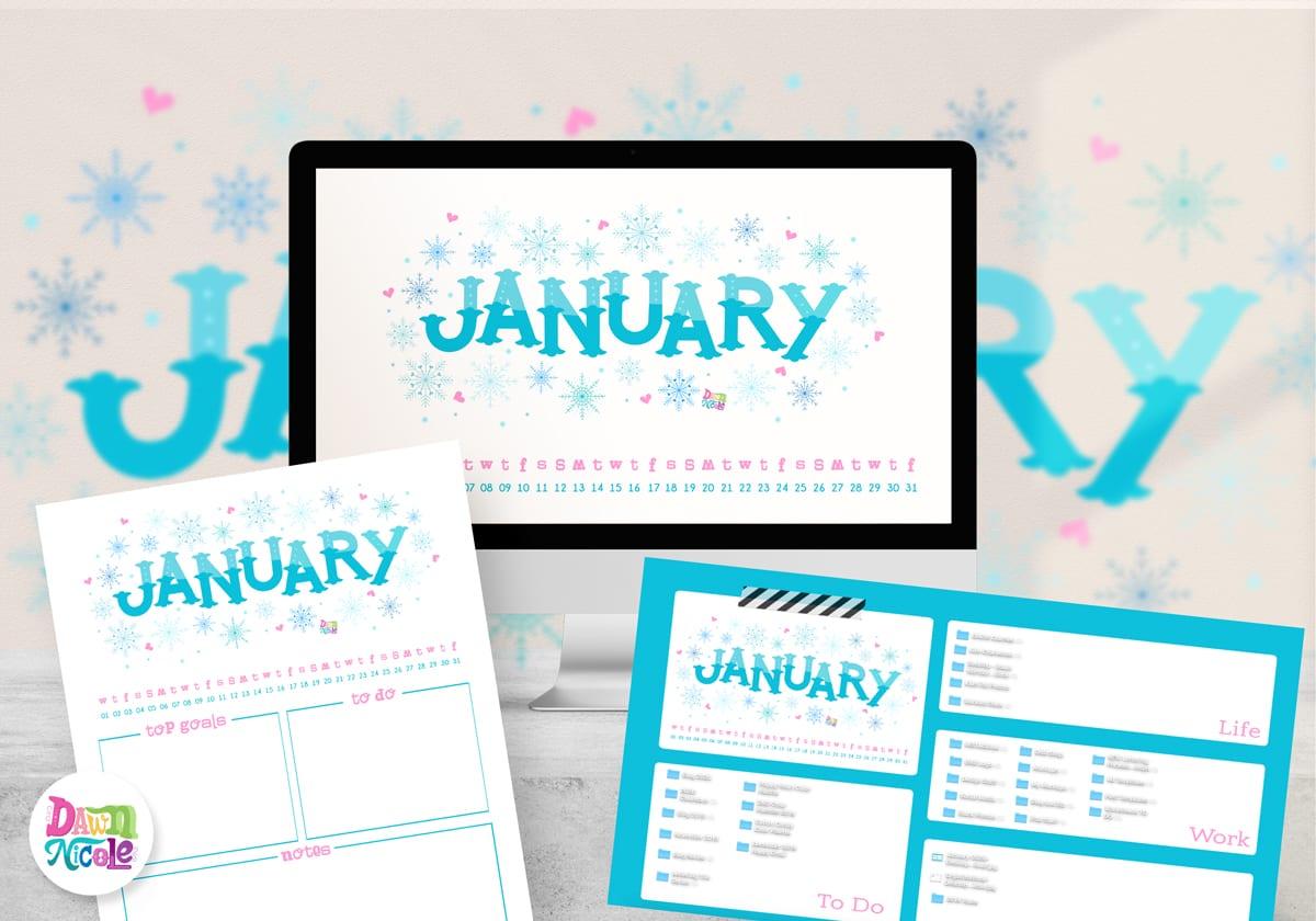 2020 Calendar Printable Wallpapers Dawn Nicole 1200x840