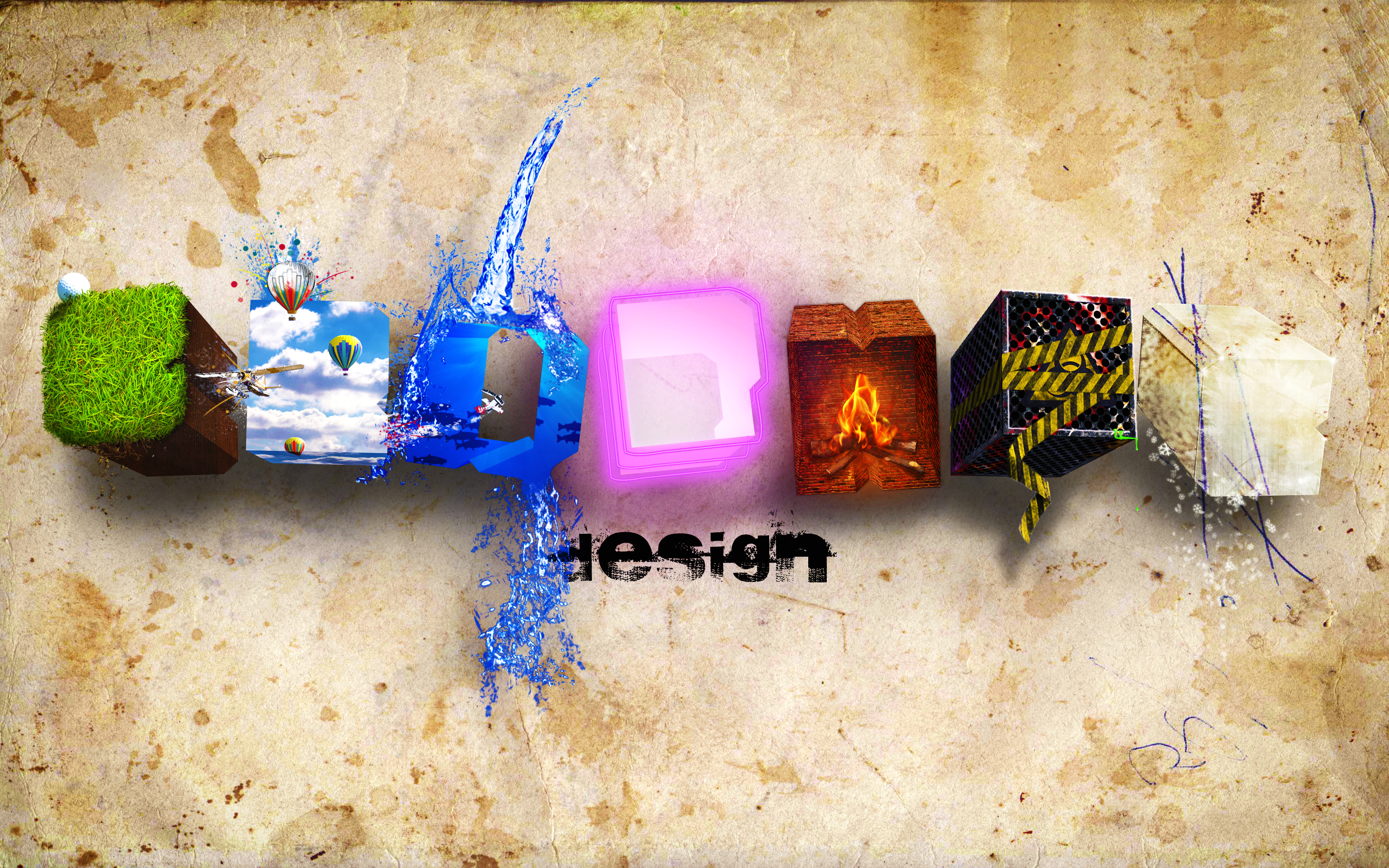 Graphic Design Art Wallpapers PC 3200x2000