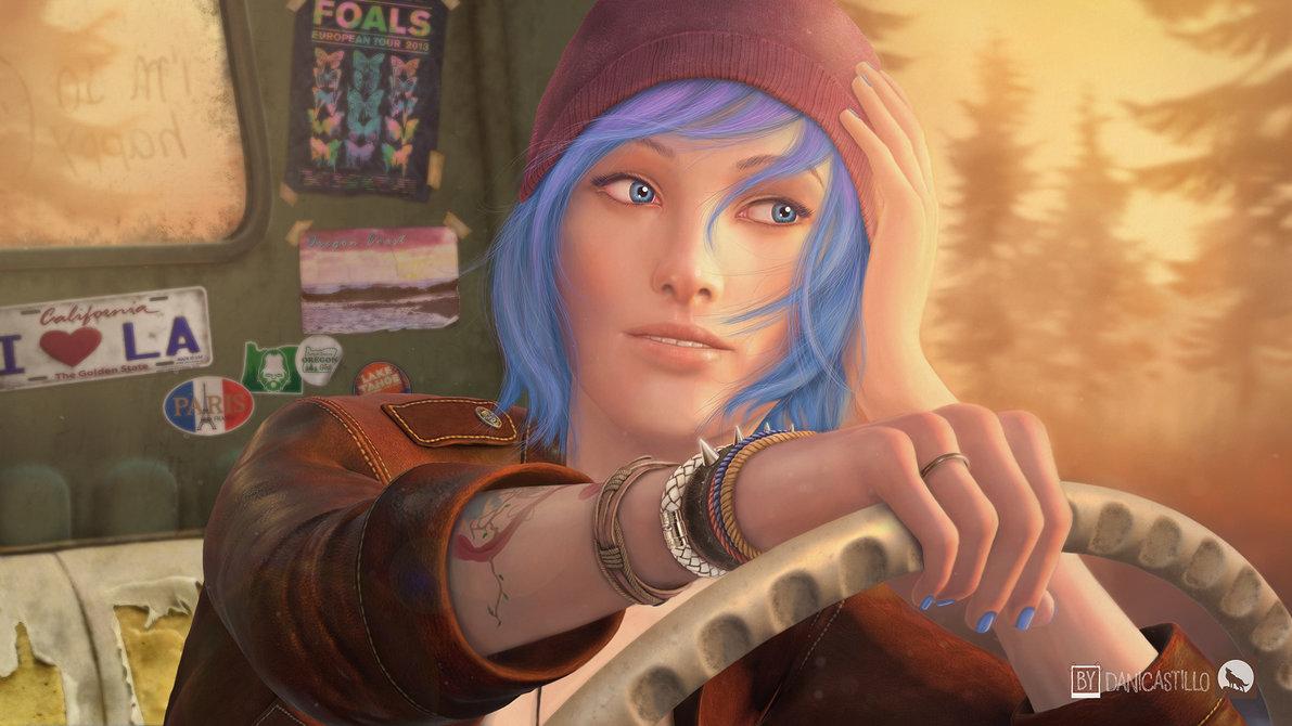 Chloe Price Fan Art by danicast83 1191x670