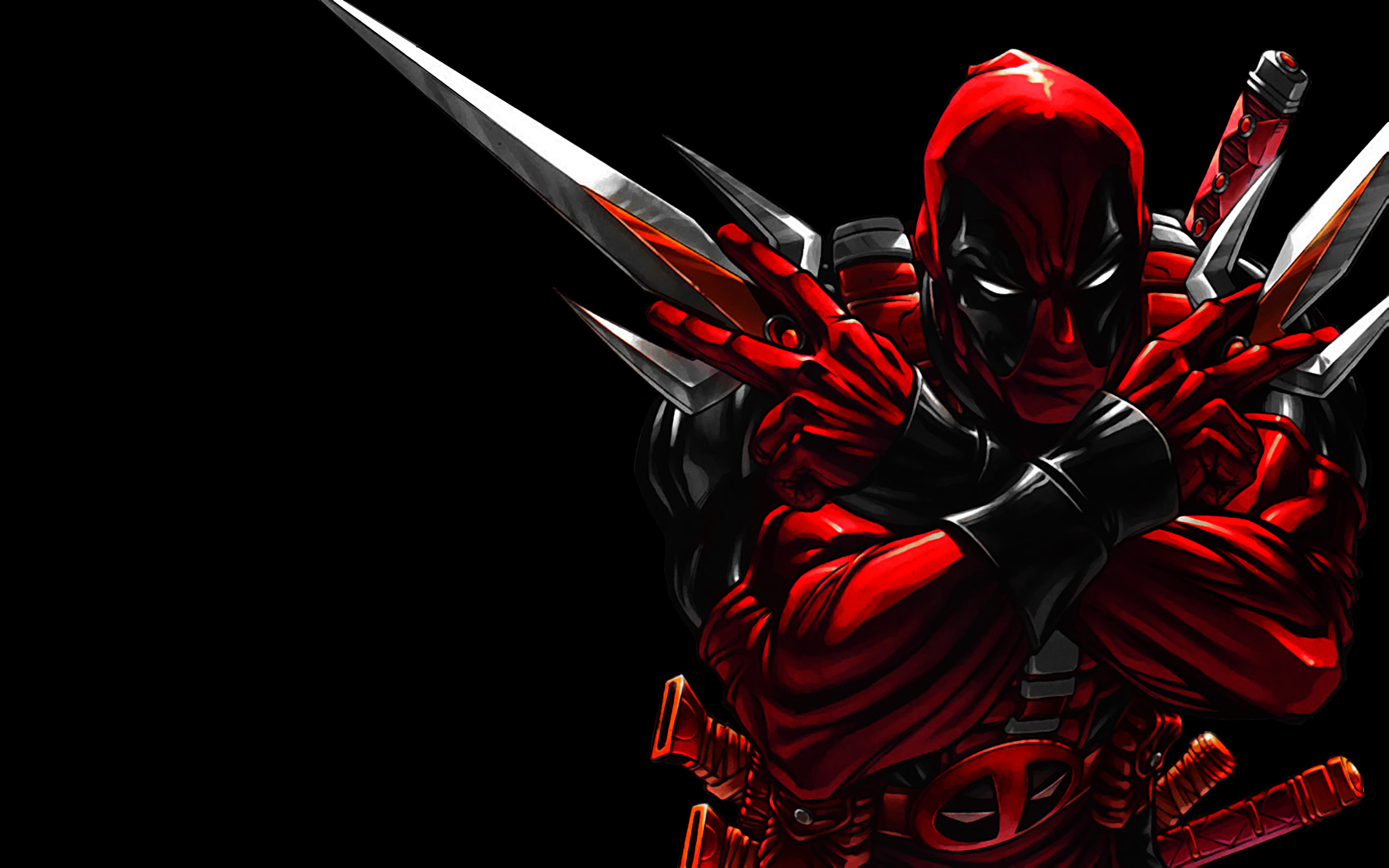 cool deadpool Wallpaper Background 18663 2400x1500