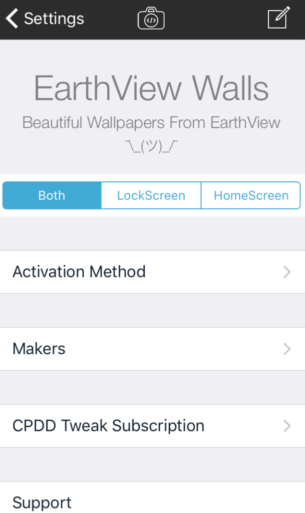 Set a new wallpaper on your iPhone automatically with EarthView Walls 609x1024
