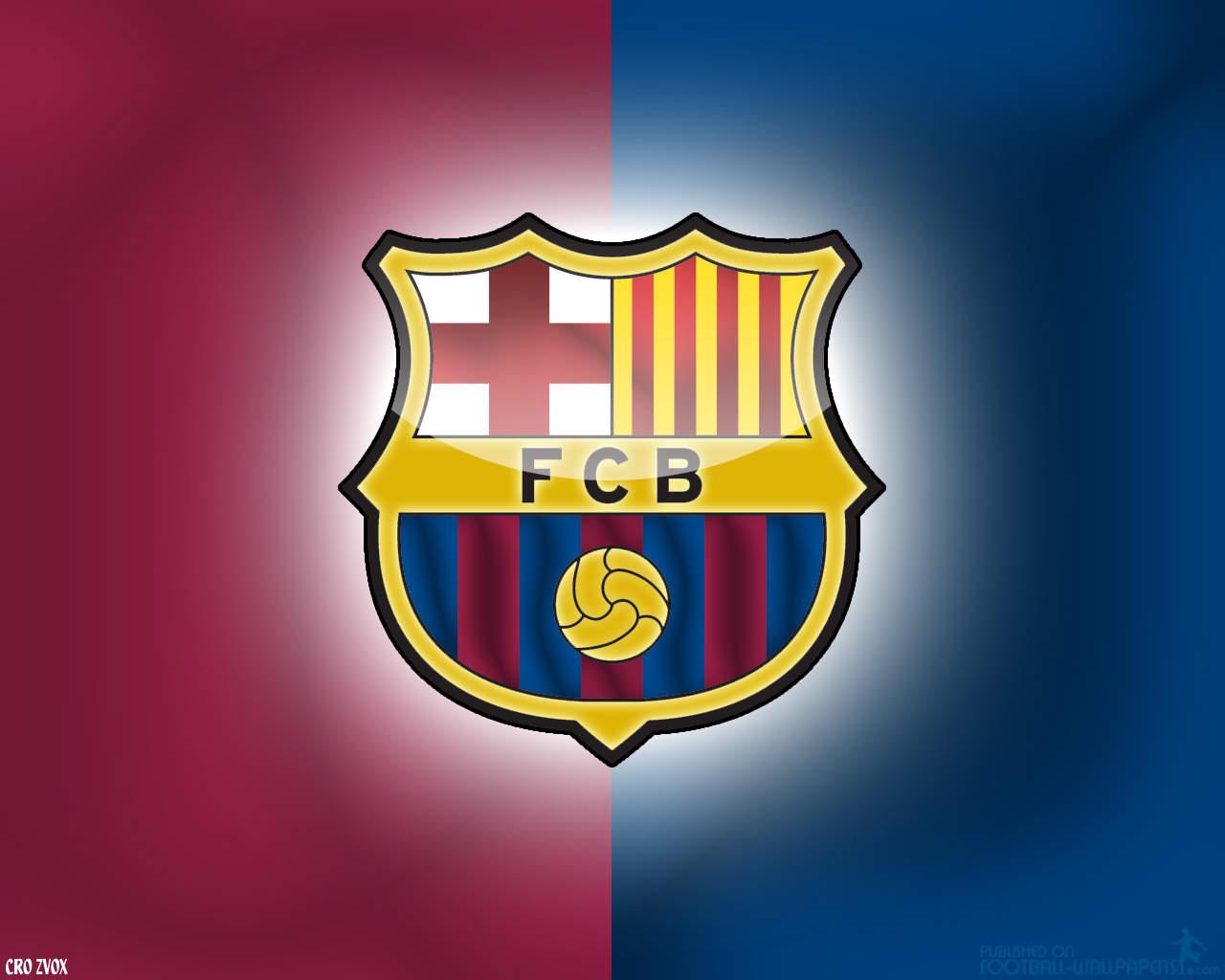 New Logo Wallpapers Barcelona FC Football Club Celebrity Wallpaper 1280x1024