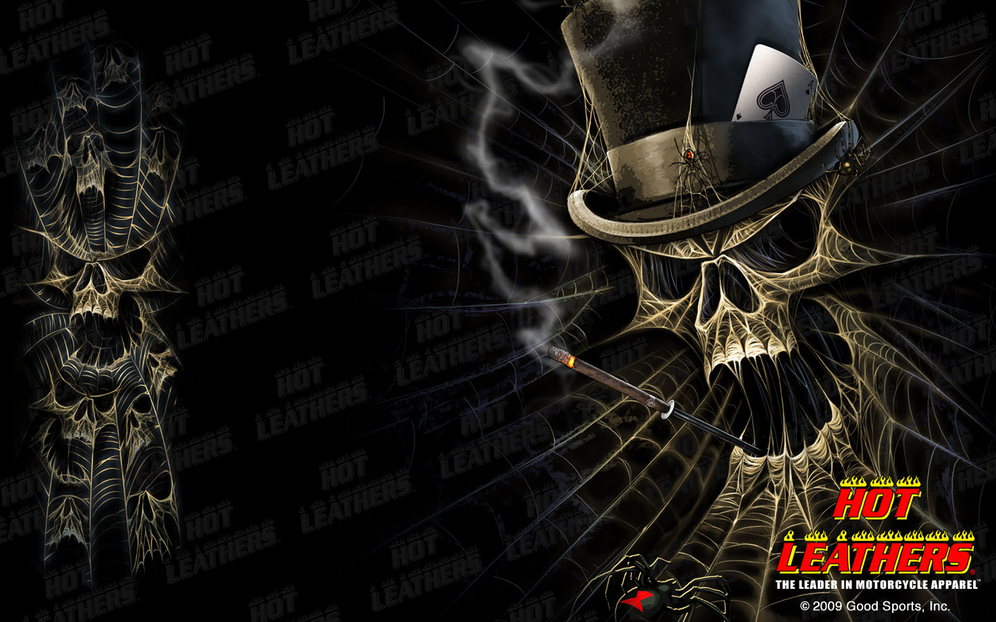 Biker Wallpapers and Motorcycle Desktops Skull Wallpapers and 2nd 1440x900