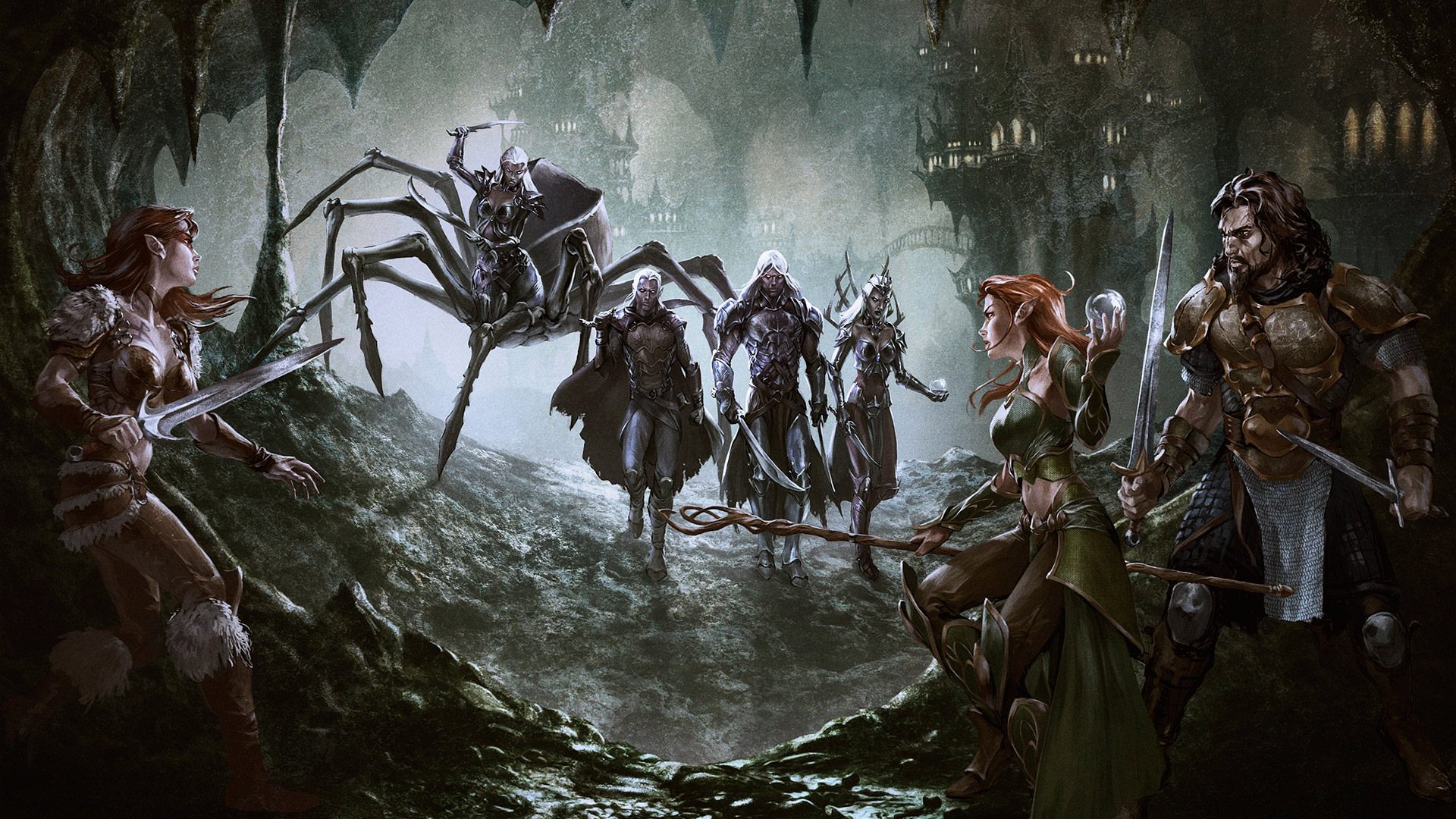 dungeons and dragons online drowsjpg 1920x1080
