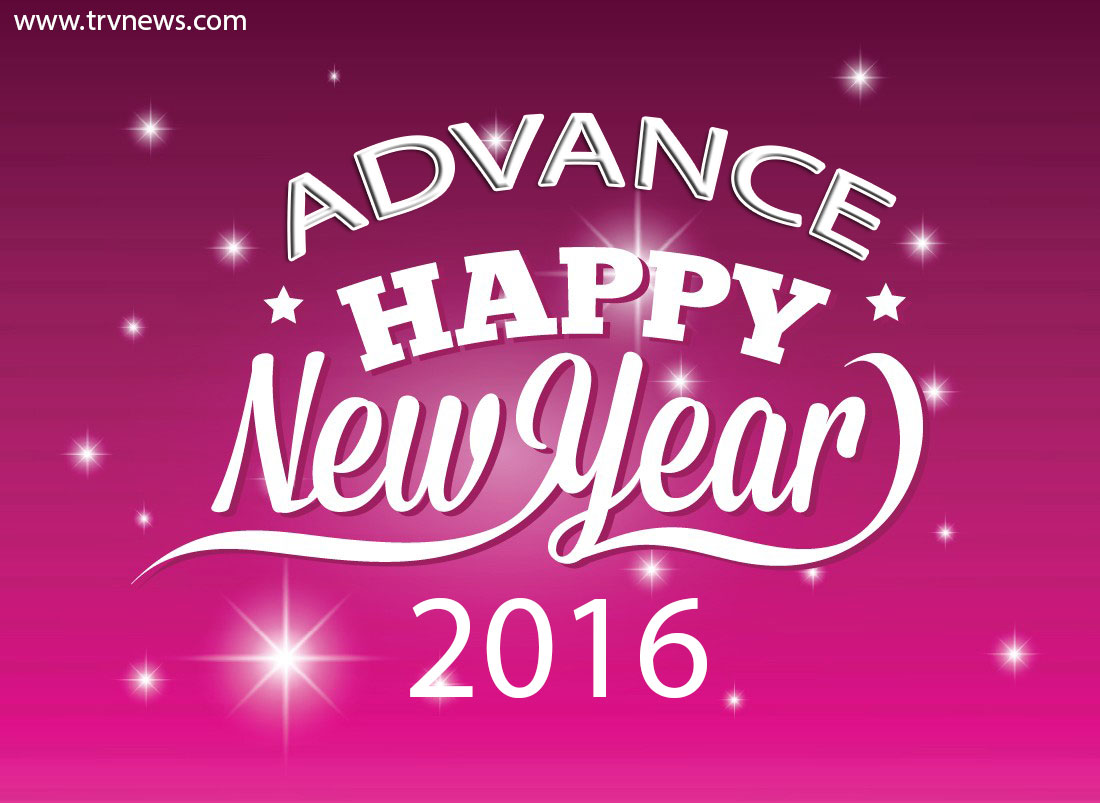 This post I am going to share Happy New Year 2016 Advance Wallpapers 1100x803