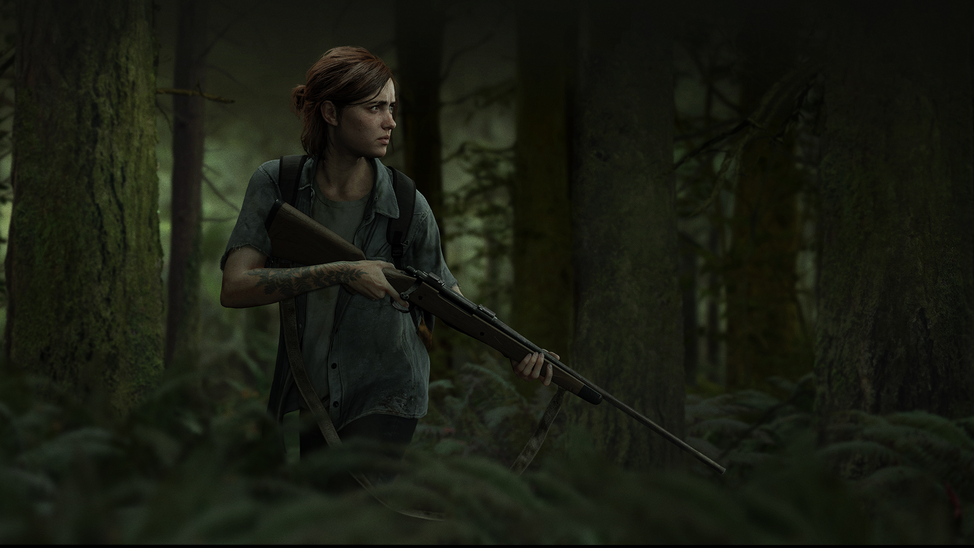 download The Last of Us Part 2 Ellie Wallpaper 1920x1080