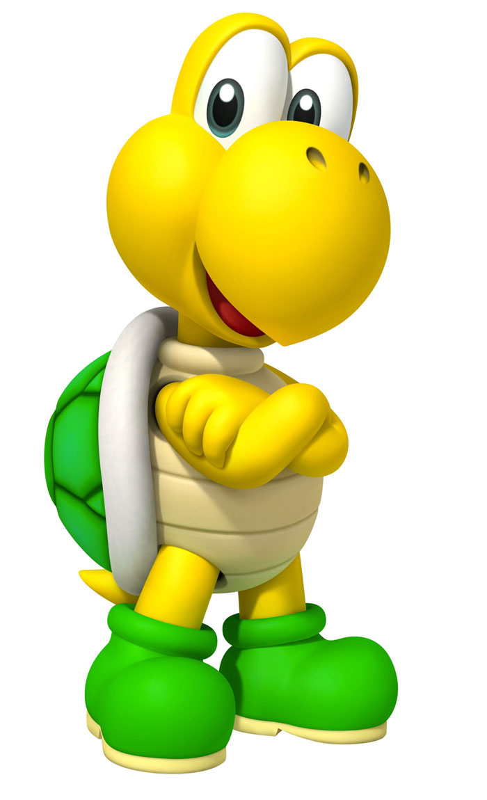 Super Mario Koopa Troopa PC, Android, iPhone and iPad. Wallpapers ...