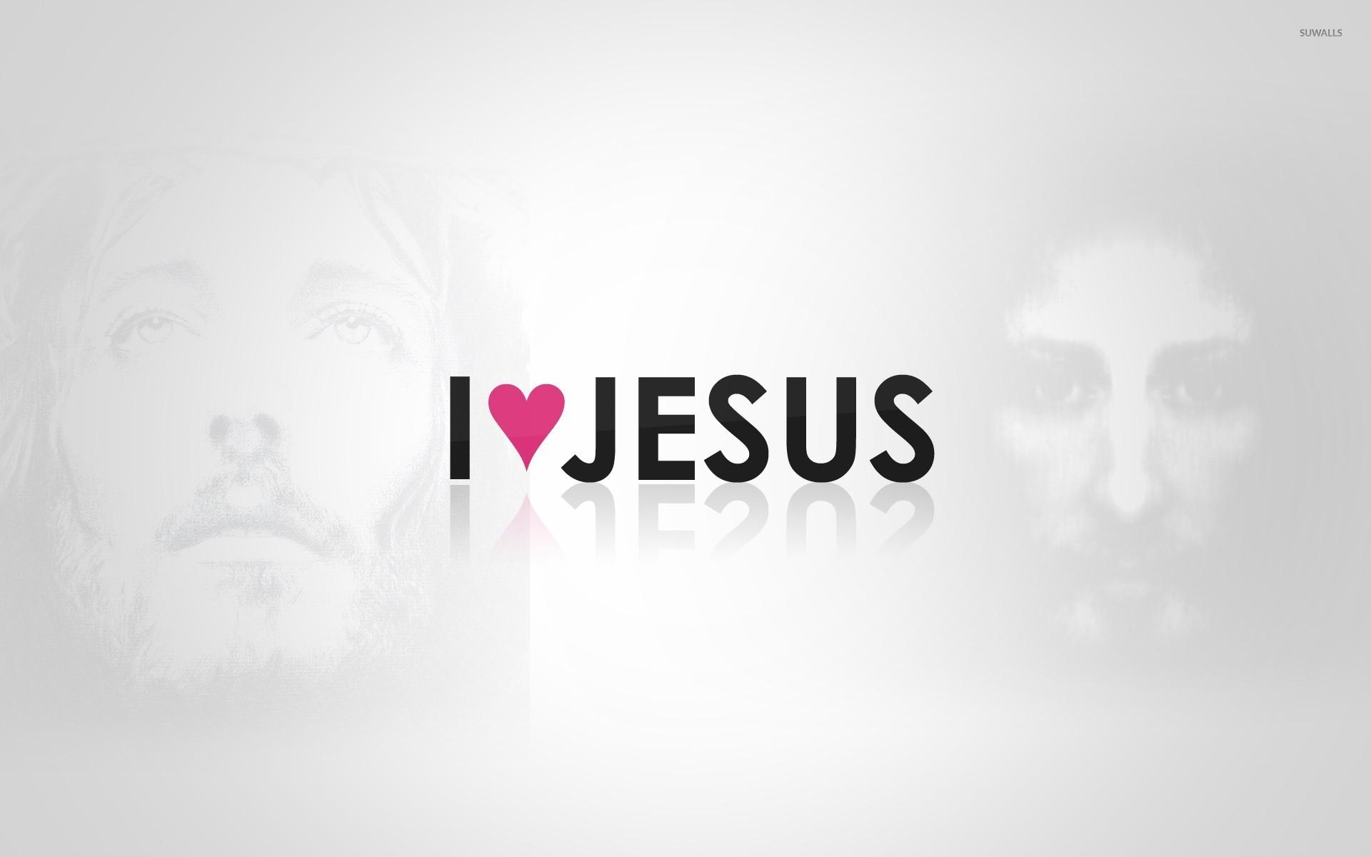 I love Jesus wallpaper   Religion wallpapers   30519 1920x1200