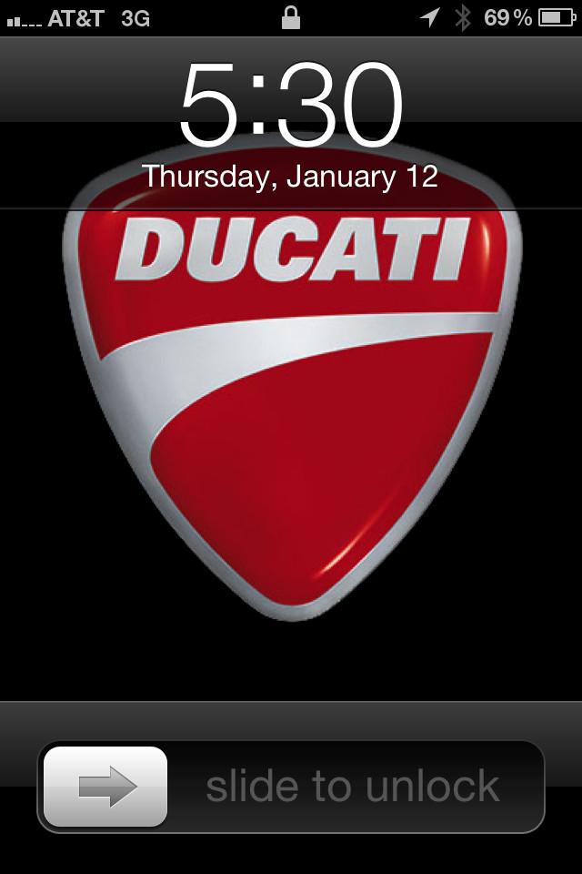 Ducati Logo Wallpaper Ducati logo wallpaper 640x960