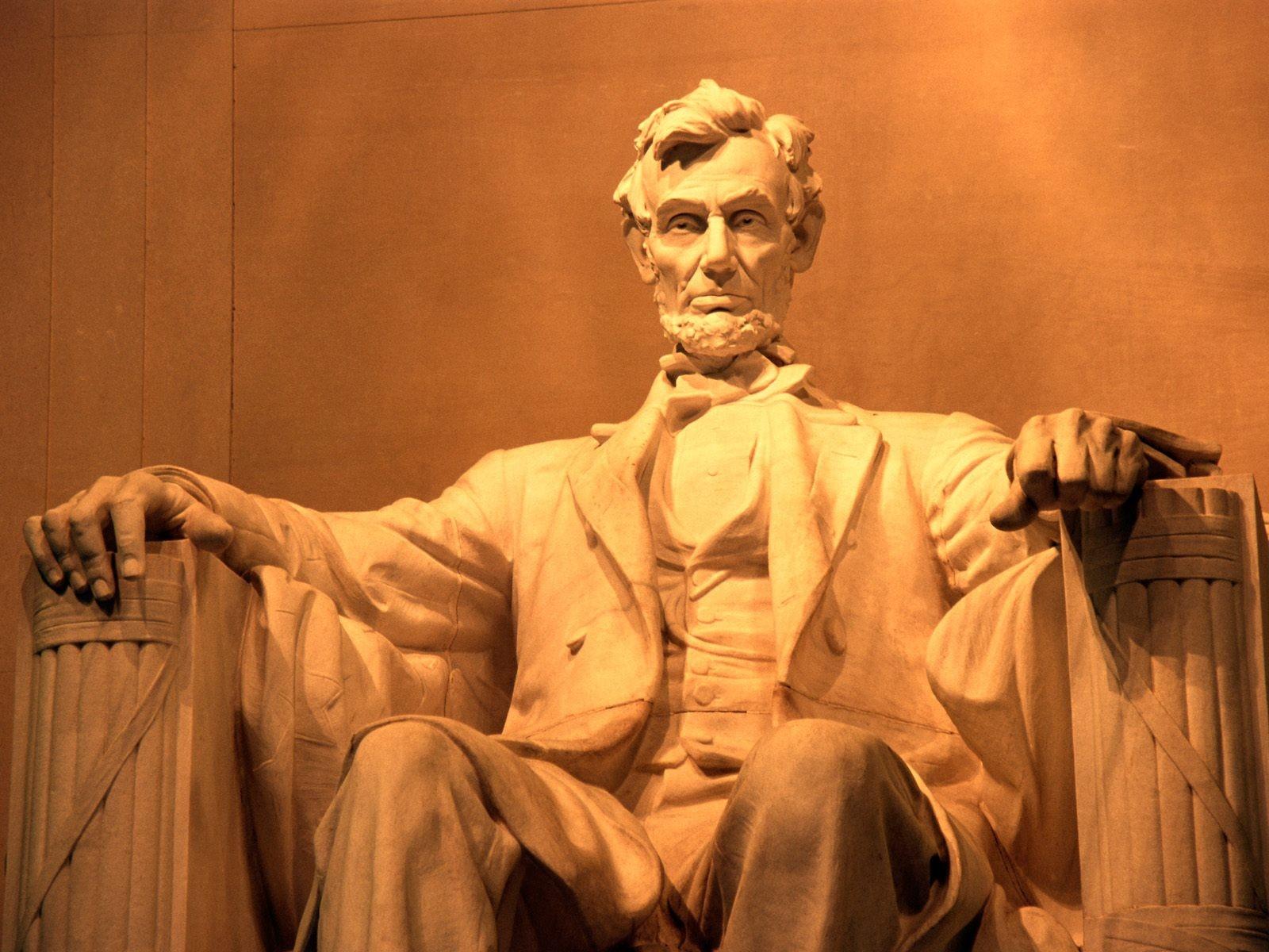 Abraham Lincoln Wallpaper 1600x1200 Abraham Lincoln USA Monument 1600x1200