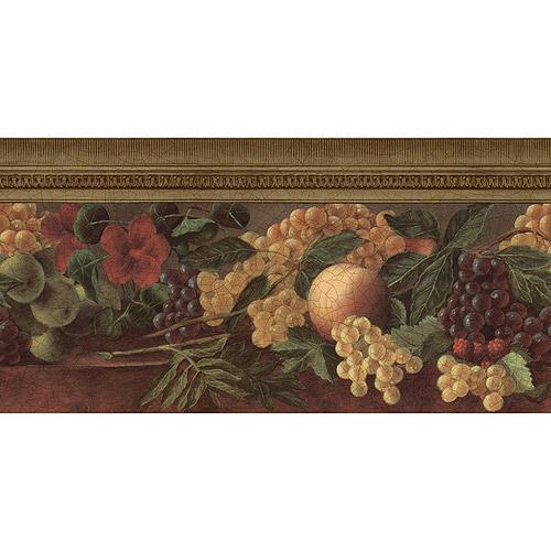Old Master Fruit Wallpaper Border   Walmartcom 500x500