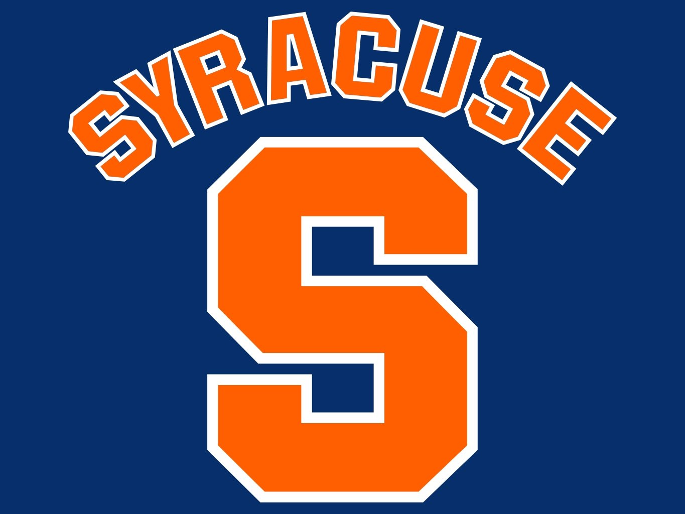 syracuse orange syracuse university desktop wallpaper collection 1365x1024