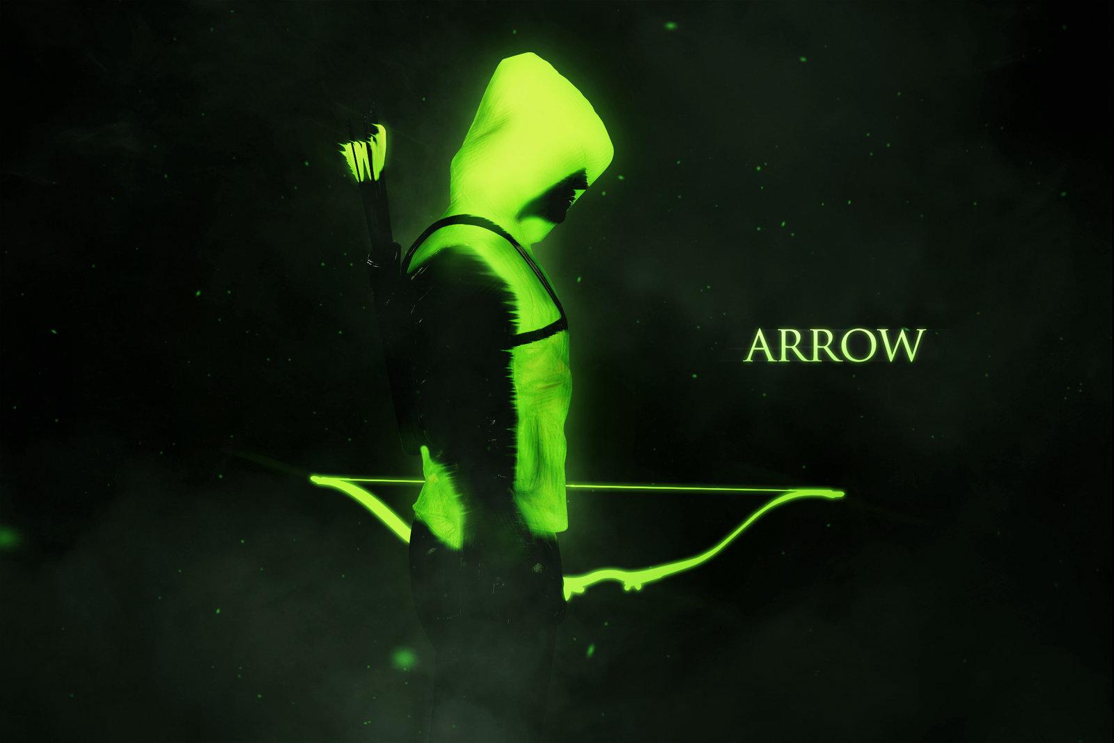 arrow wallpaper cw green green arrow wal Green Arrow Cw Wallpaper 1600x1067