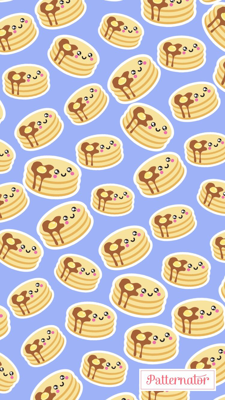 pattern wallpaper iphone background colorful pancakes egg 750x1334