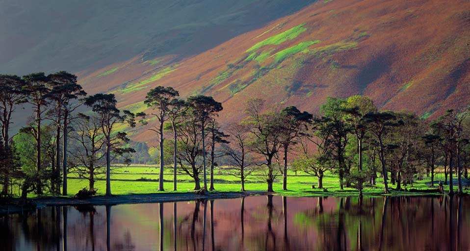 Buttermere Cumbria in the Lake District of England UK    SIMEeStock 958x512