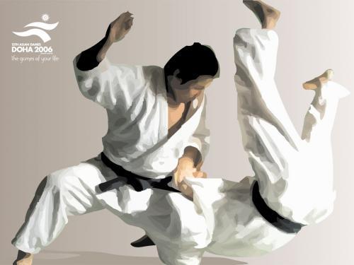 Desktop Doha 2006 Judo Wallpaper 500x375