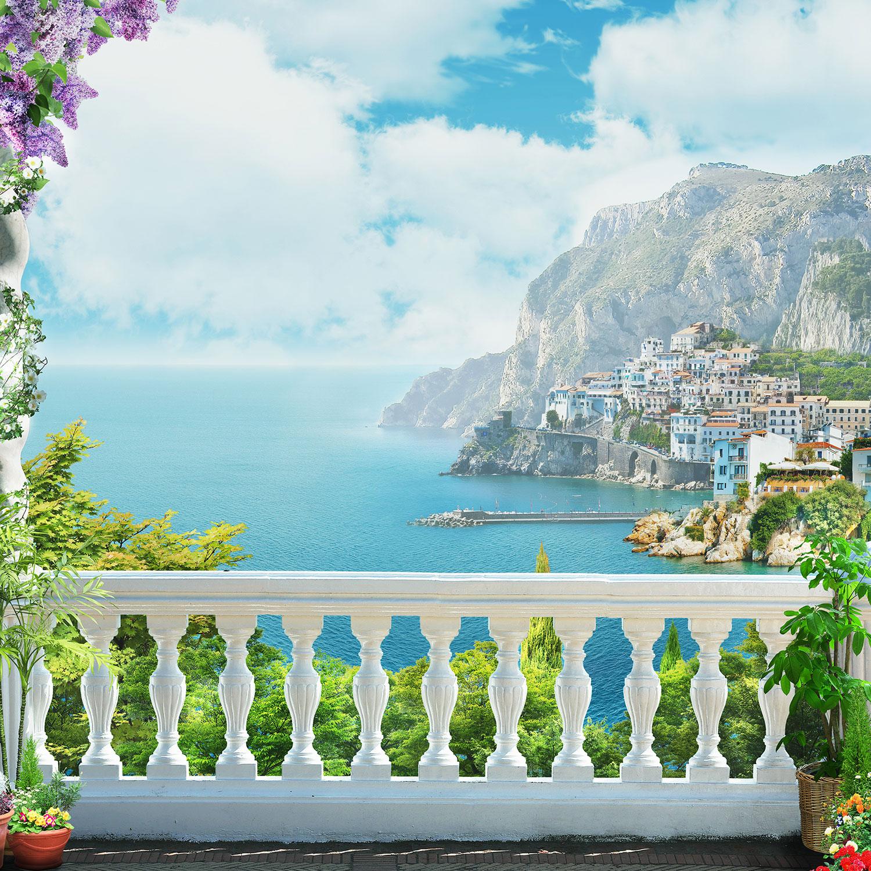 Фреска вид с балкона.