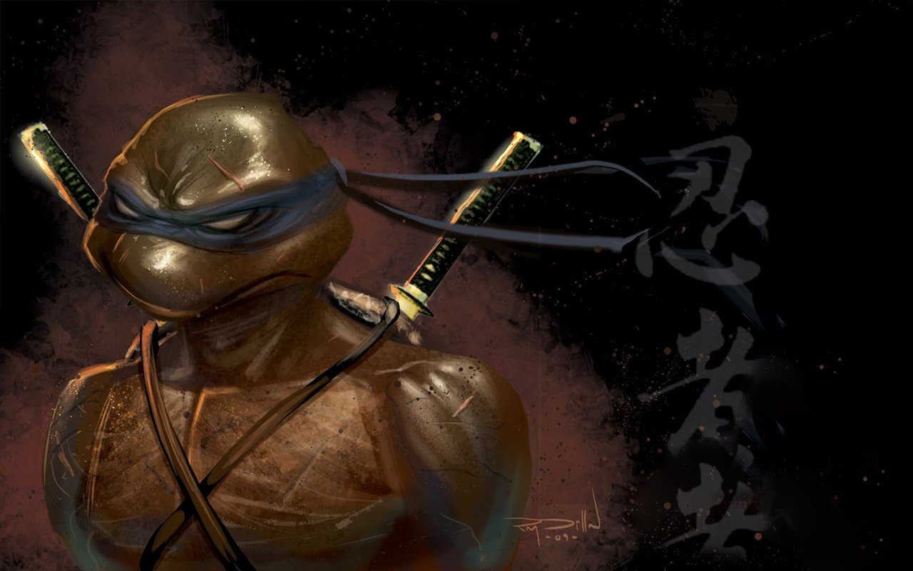 TMNT Leonardo Wallpape...