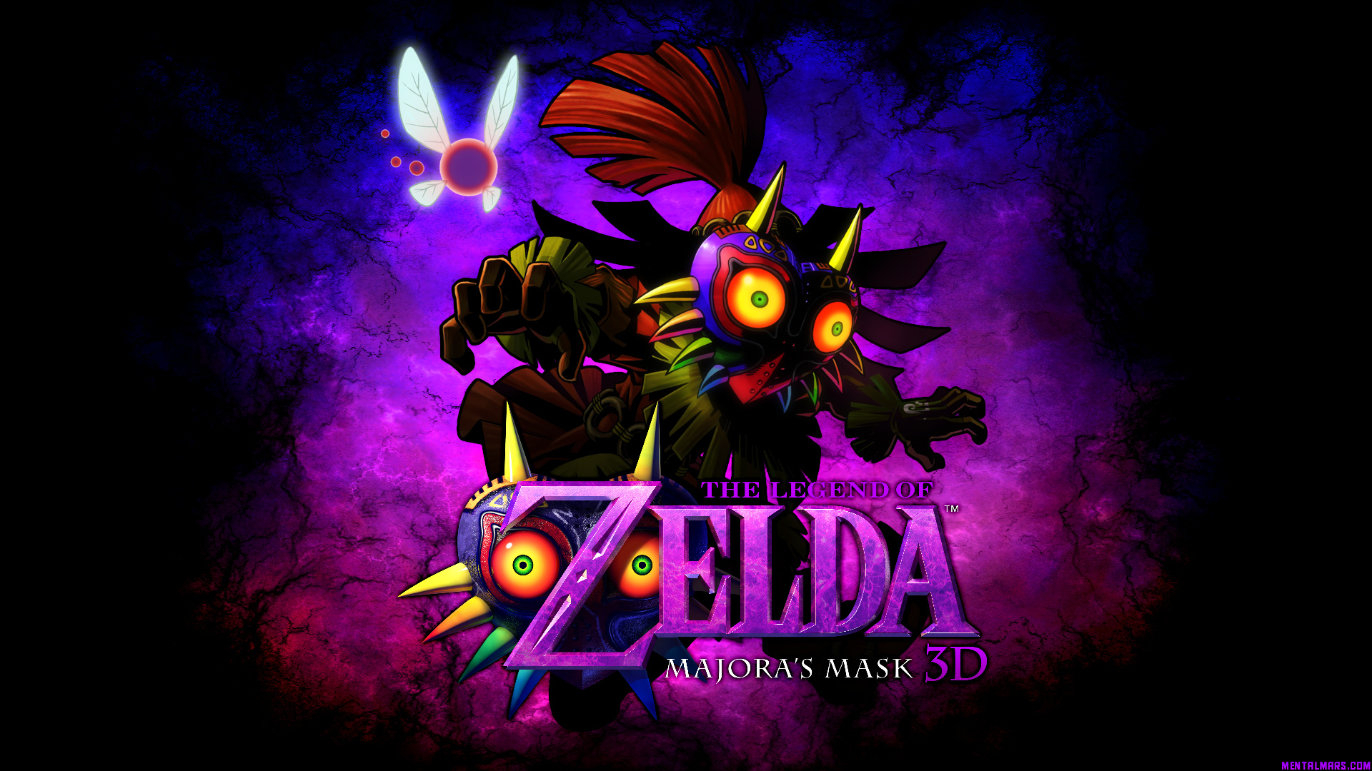 Skull Kid Wallpaper: Skull Mask Wallpaper
