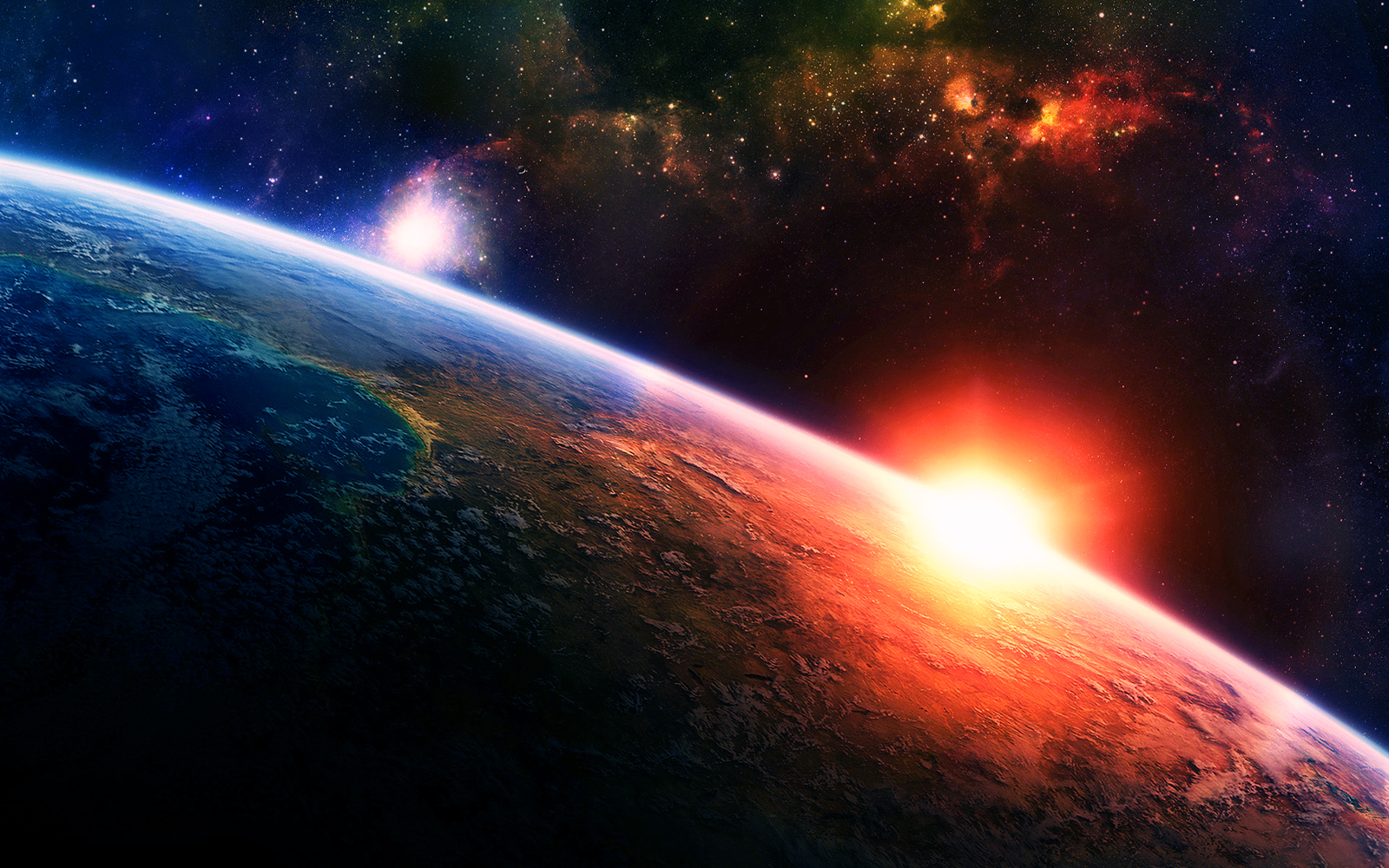 Outer space wallpapers wallpapersafari for Outer space design wallpaper