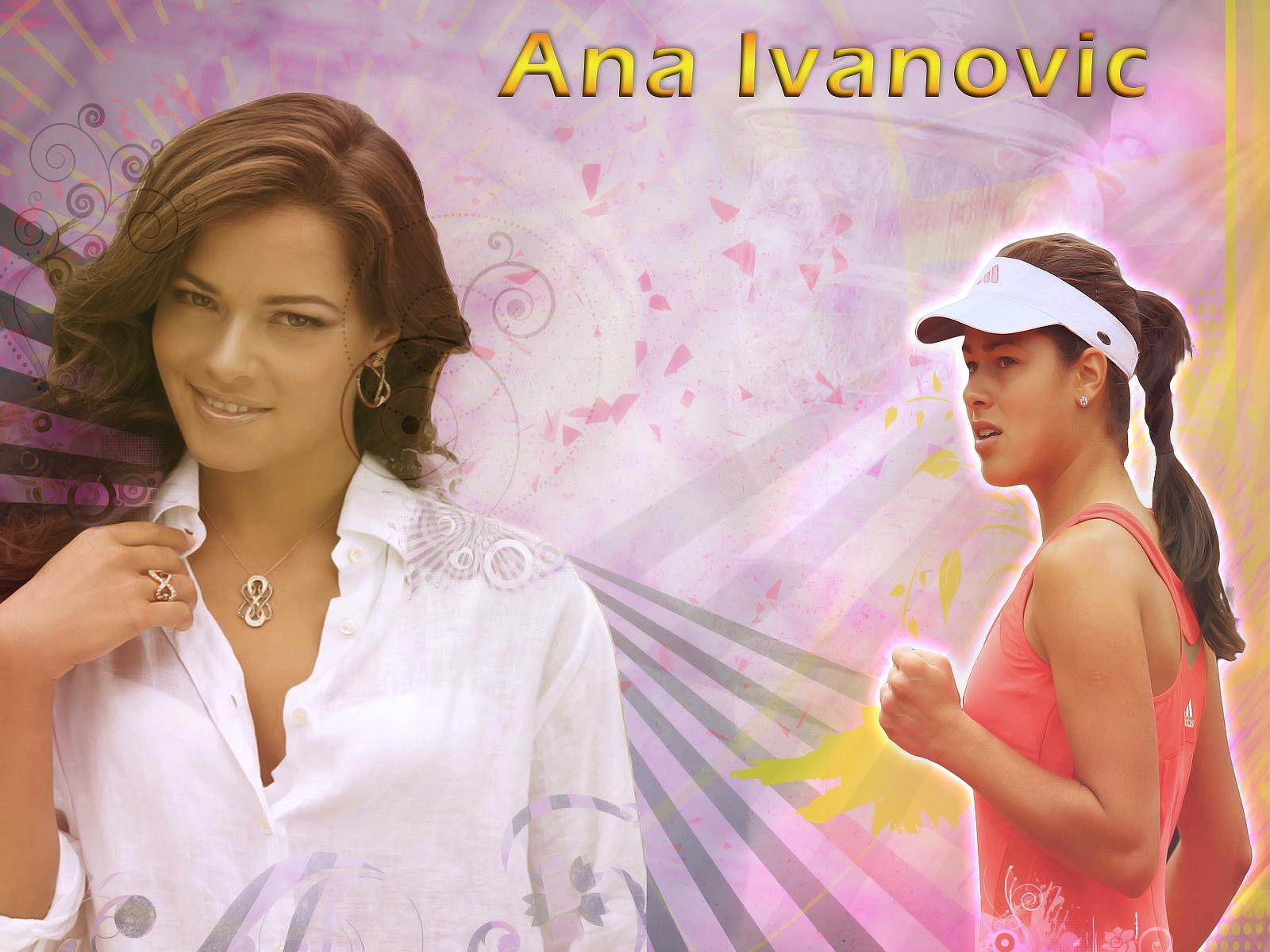 Ana Ivanovic Hintergrundbilder Ana Ivanovic frei fotos 1600x1200