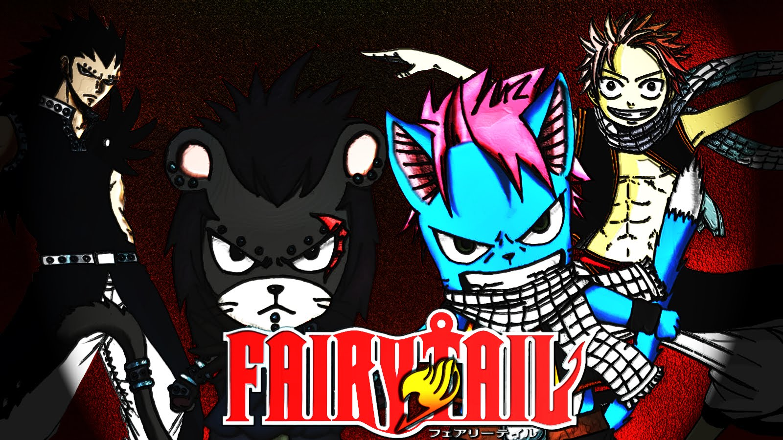 fairy tail happy fairy tail panther lily Wallpaper fairy tail 1600x900