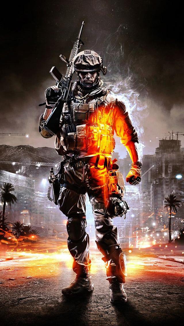 iPhone 5 wallpapers HD   Battlefield 3 Backgrounds 640x1136