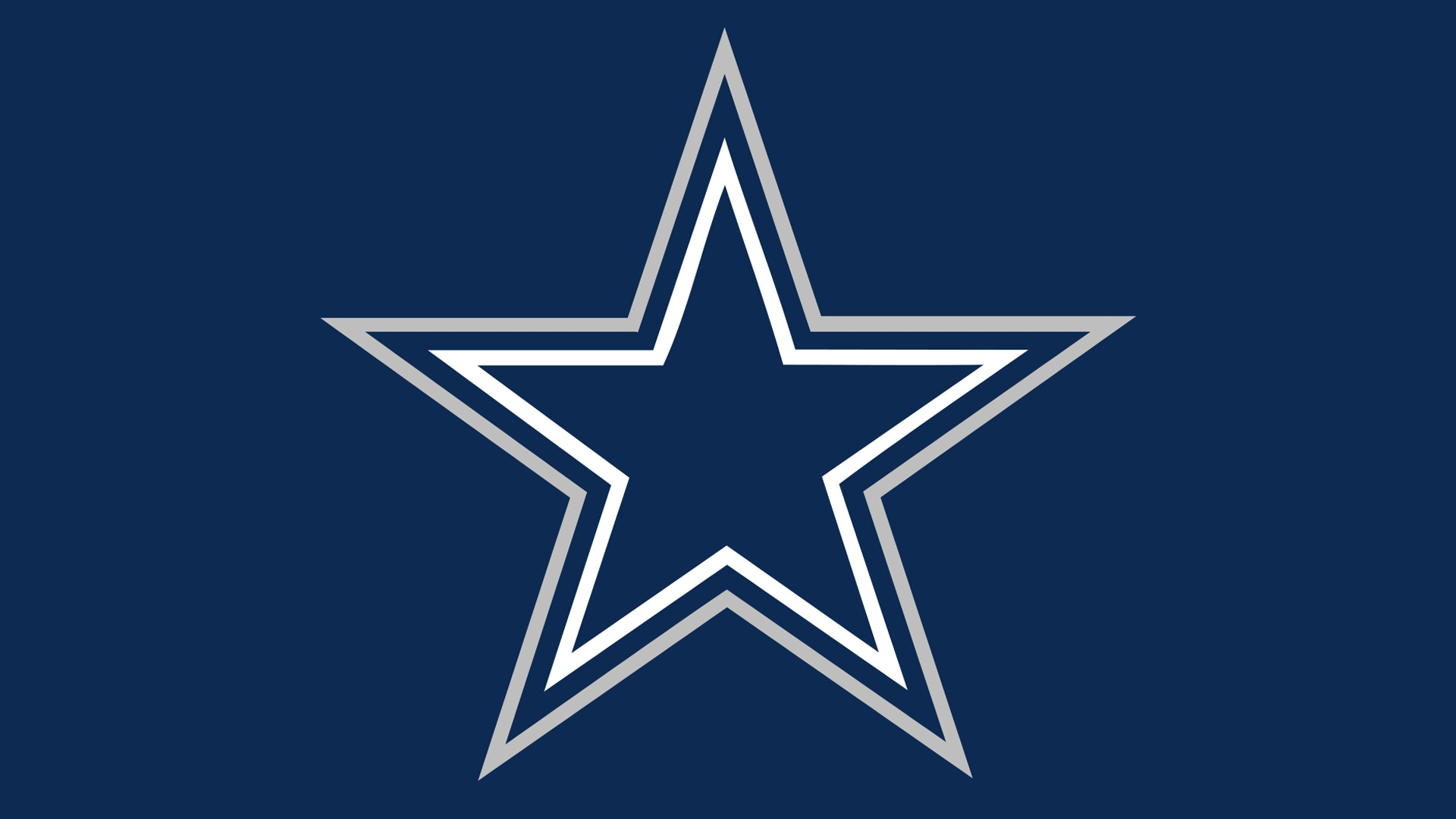 Pin Nfl Dallas Cowboys Blue Star Logo 1920x1080 Hd 1920x1080