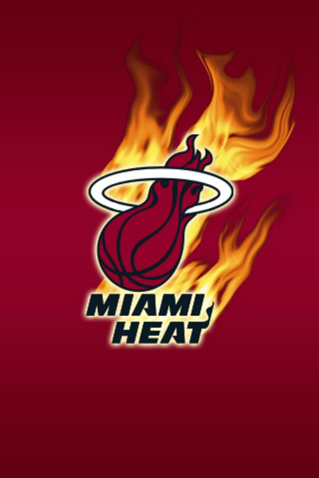 Miami Heat iPhone Wallpaper HD 640x960