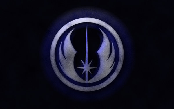 Star Wars Jedi Logo Wallpaper Star wars legacy wallpaper by 600x375
