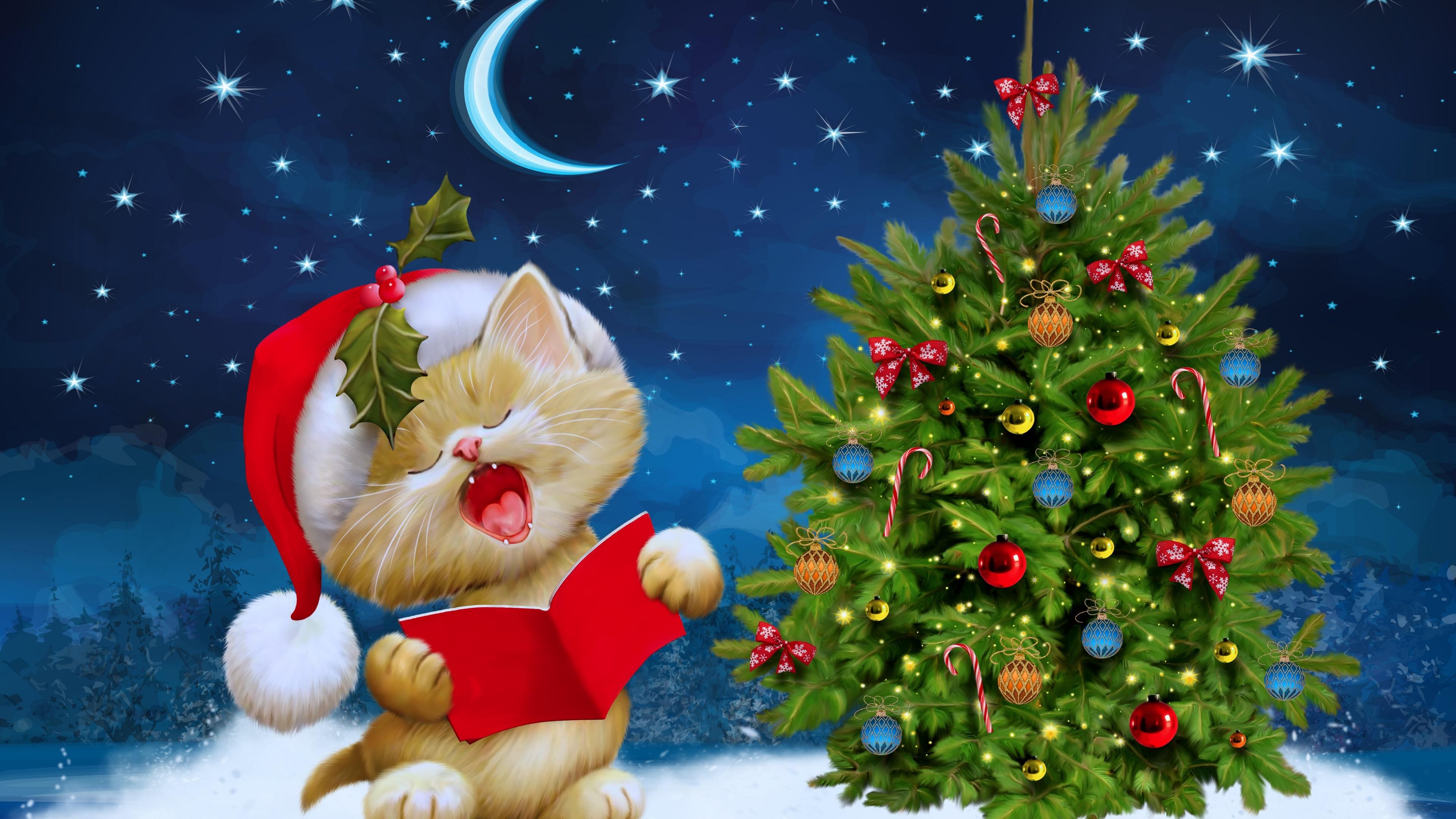 Free Download Christmas Tree Wallpaper 2017