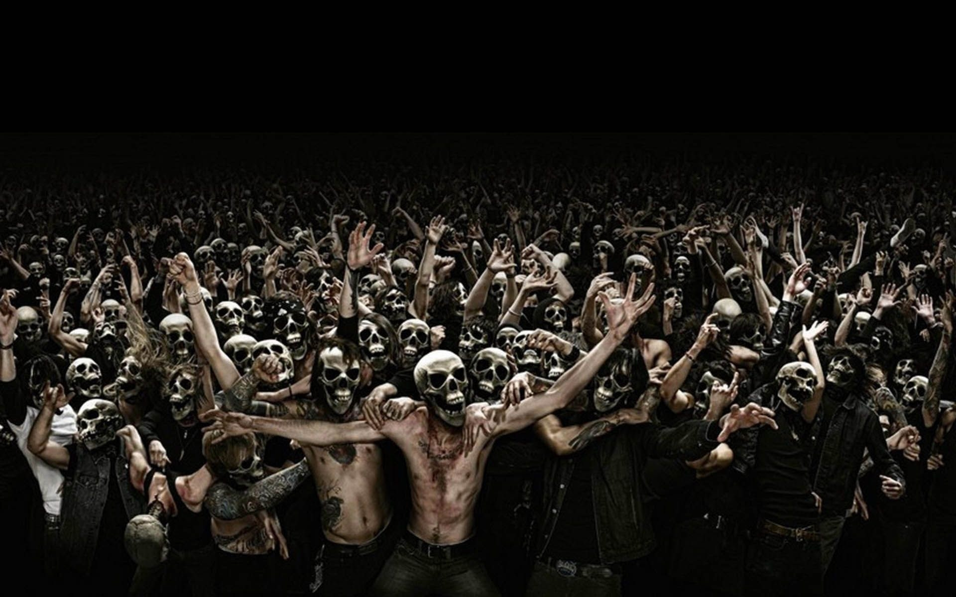 Crowd Of Skull Faces Pictures, Photos, and Images for Facebook, Tumblr ...