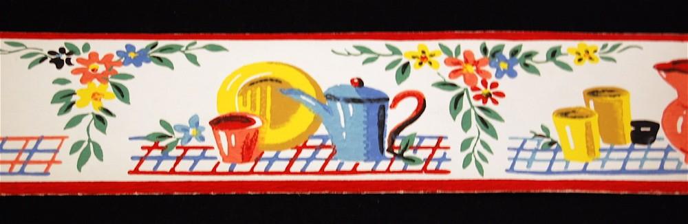 Mexican Fiesta Wallpaper Border Vintage fiesta wallpaper 1000x326
