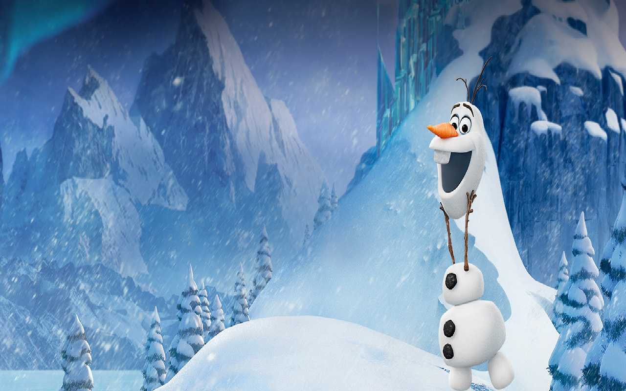 Olaf and Sven images Olaf Wallpaper HD wallpaper and background photos 1280x800