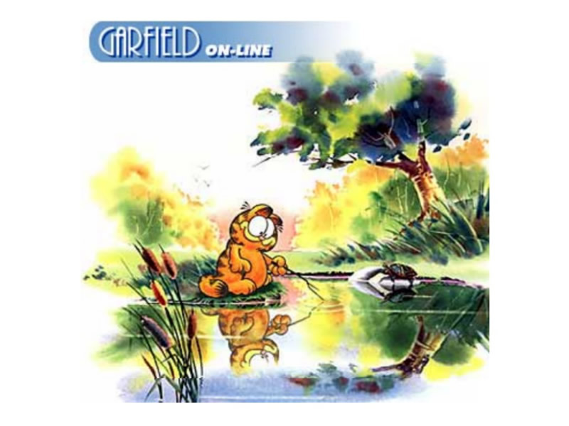 Gato Garfield Wallpapers de Garfield Fondos de pantalla de Garfield 800x600