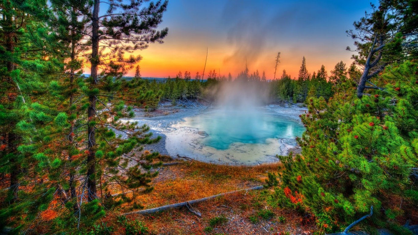 Yellowstone National Park Wallpaper and Background Image 1366x768