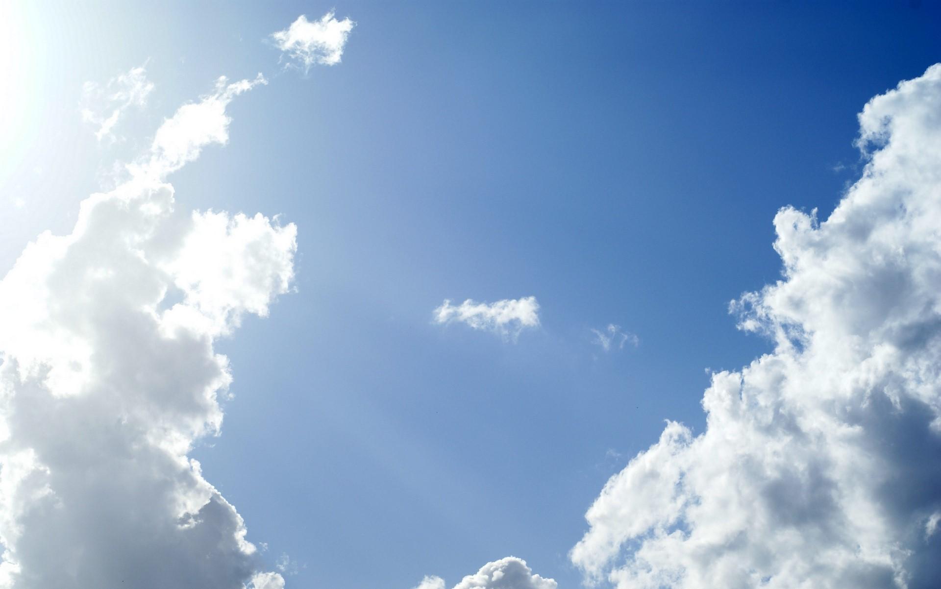 blue sky wallpaper 1920x1202