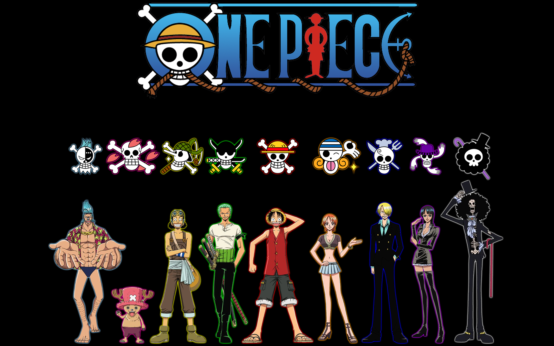 One Piece Wallpaper 1366X768 fond ecran hd 1920x1200