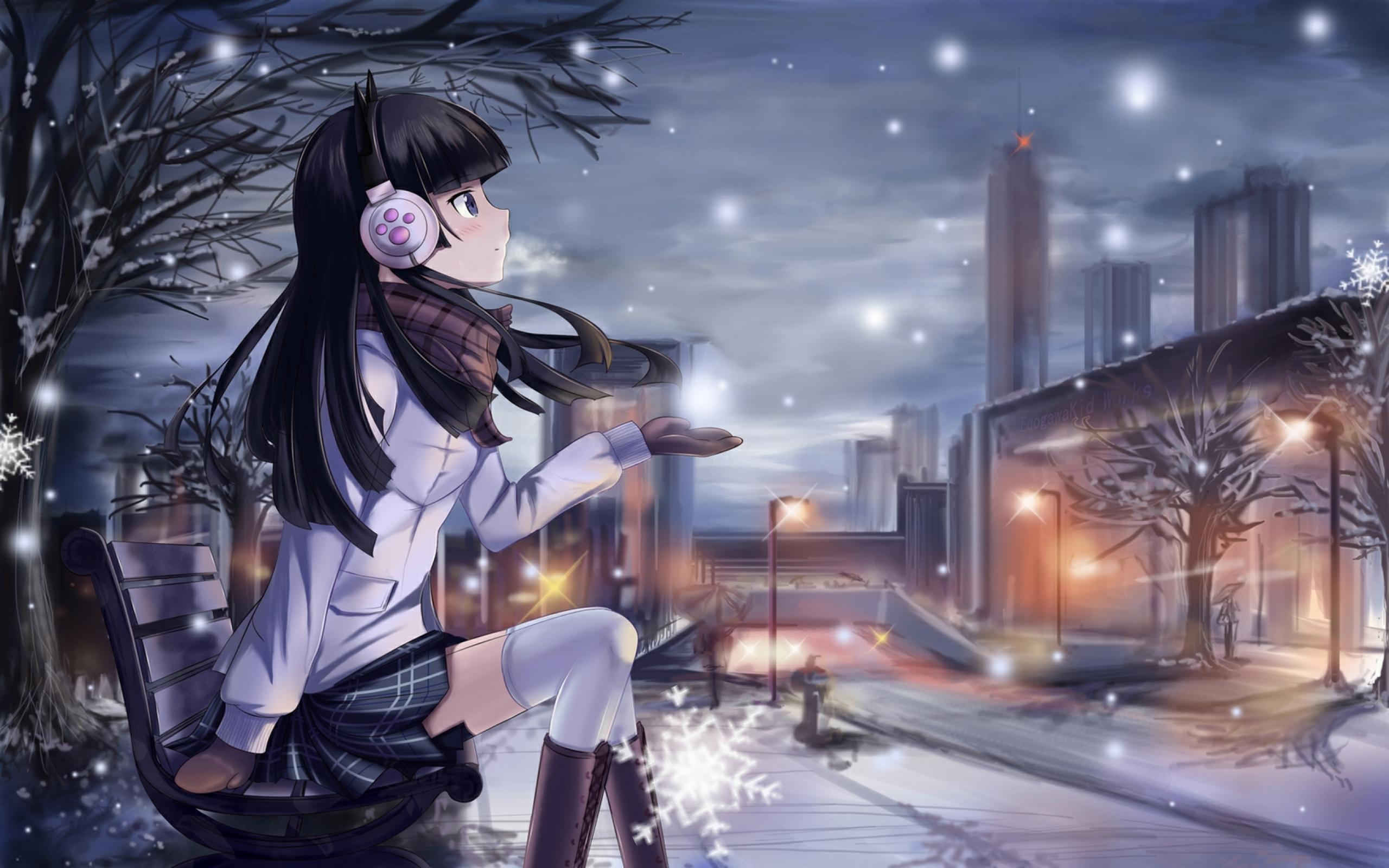 girl   Kawaii Anime Wallpaper 34625055 2560x1600